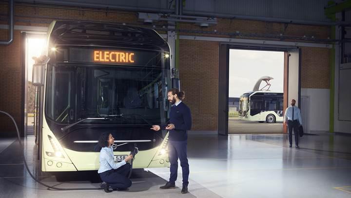 Volvo yeni 7900 elektrikli otobüsünü duyurdu