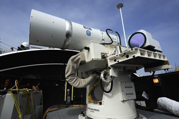 Lockheed Martin savaş uçaklarına lazer sistemleri yerleştirecek