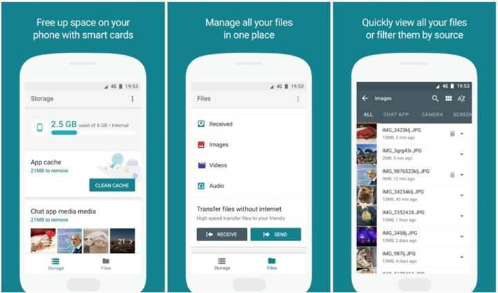 Google'ın yeni Android dosya yöneticisiyle tanışın: Files Go