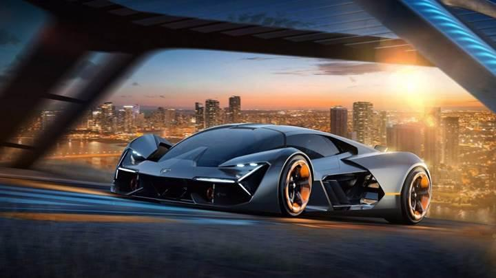 Lamborghini'den süper kapasitörlü elektrikli supersport araç konsepti