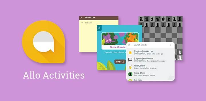 Google Allo sohbet içi aktivite desteğine kavuşuyor
