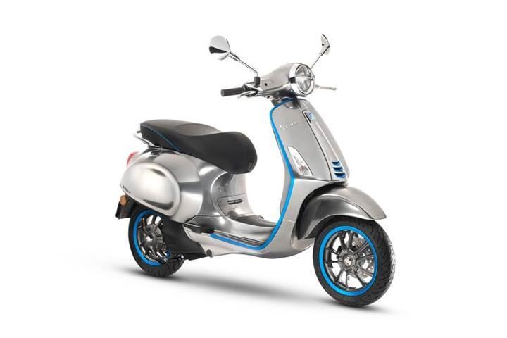 Vespa ilk elektrikli scooter modelini duyurdu: Vespa Elettrica
