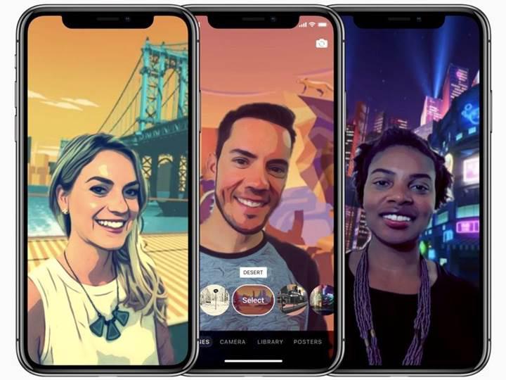 Apple'ın Clips uygulaması TrueDepth kamera desteğiyle güncellendi