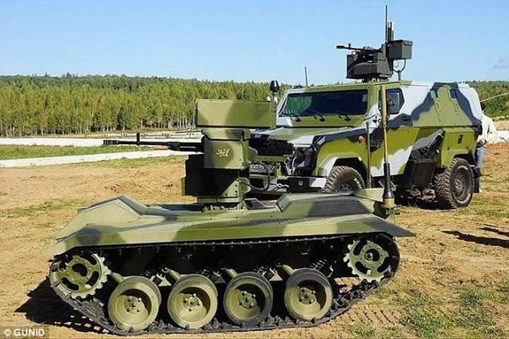 Rusya'nın robot tankları insanlı tanklardan daha başarılı