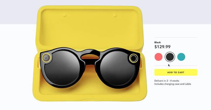 Snap Inc., elde kalan Spectacles gözlükleri satmaya çalışacak