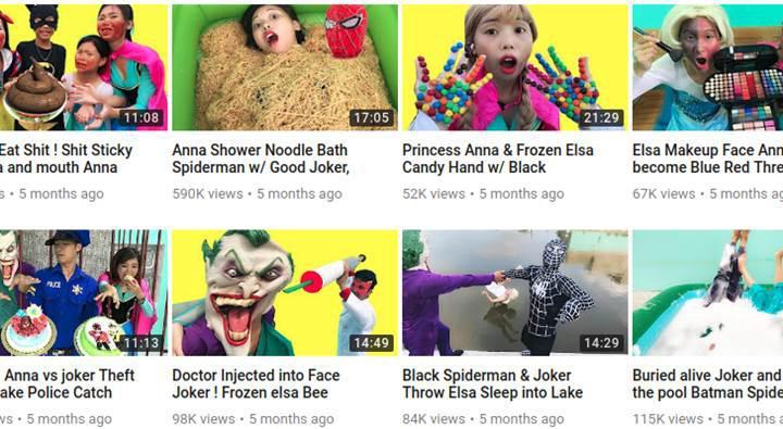 YouTube, kaliteden yoksun çocuk videolarına savaş açtı