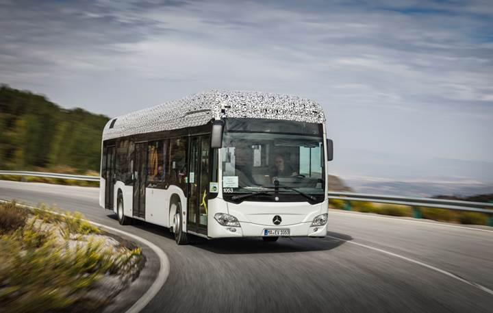 Elektrikli Mercedes Citaro 2018'de yollarda olacak