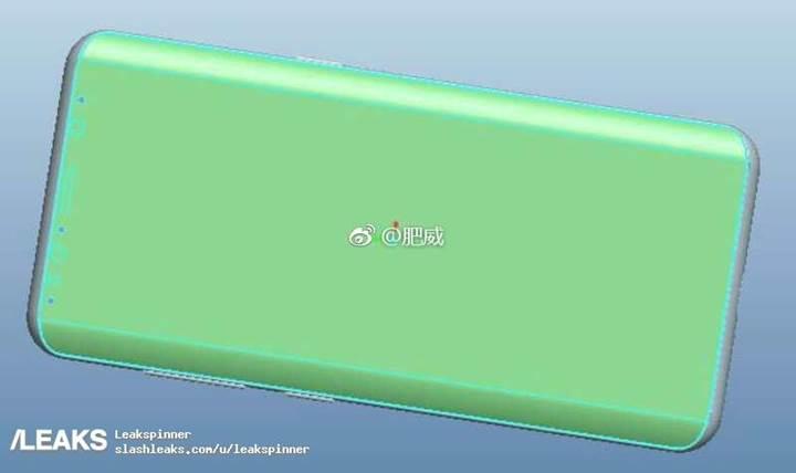 Galaxy S9'un tasarımına ait ilk görüntüler internete düştü