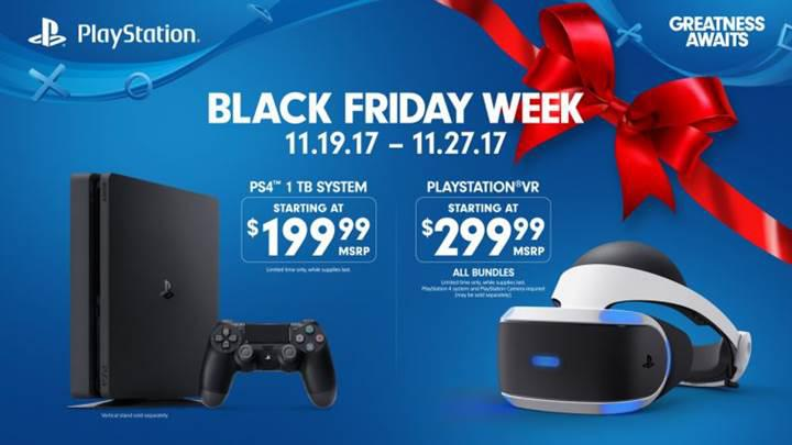 Black Friday indirimlerinde Playstation 4 1 TB, 200 dolara satılacak