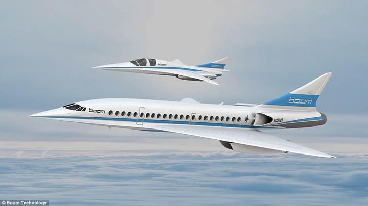 Boom Supersonic, 2025 yılına kadar süpersonik yolcu uçağını kullanıma sunacak