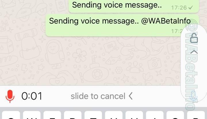WhatsApp'tan önemli yenilik: Sesli mesaj kaydetmek kolaylaşıyor