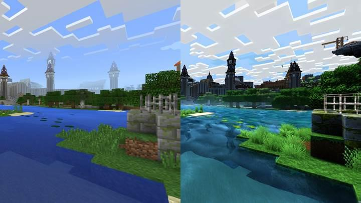 Büyük Minecraft grafik güncellemesi gelecek yıla kaldı