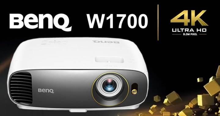 BenQ ev sineması için 4K HDR projeksiyon cihazını tanıttı