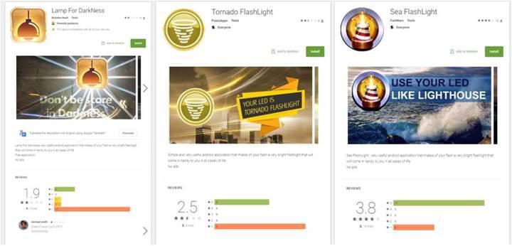 Play Store'daki el feneri ve soliter uygulamaları banka bilgilerinizi çalabilir