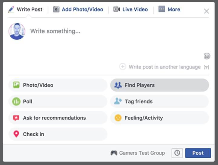 Facebook oyun arkadaşı bulacak