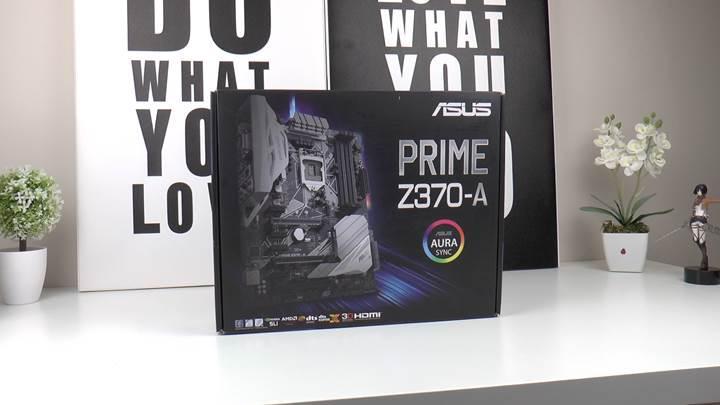 Asus Prime Z370-A incelemesi