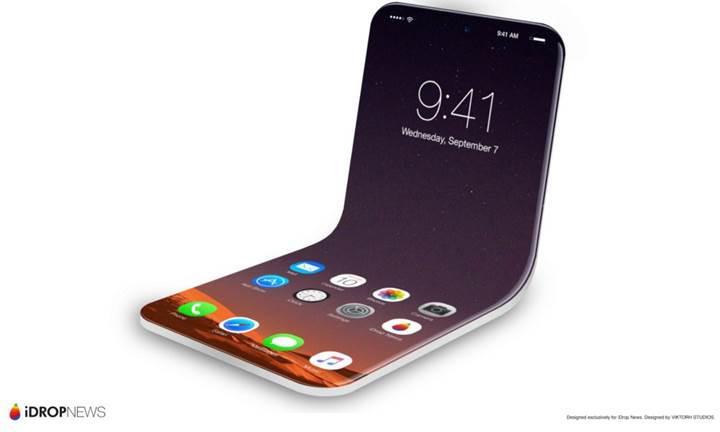 Apple'dan katlanabilir iPhone için patent başvurusu
