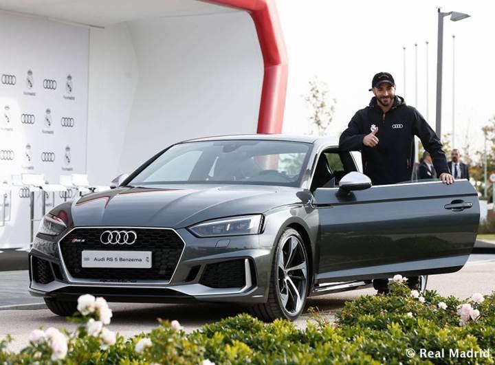 Audi bu yıl da Real Madrid'li futbolculara ücretsiz lüks otomobil verdi