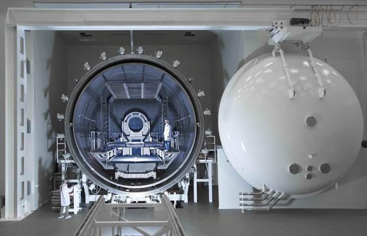 Türkiye'nin uydu test merkezini gezmek ister misiniz?