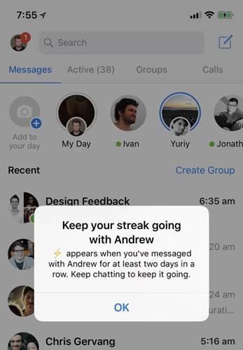 Facebook'a yeni bir Snapchat özelliği