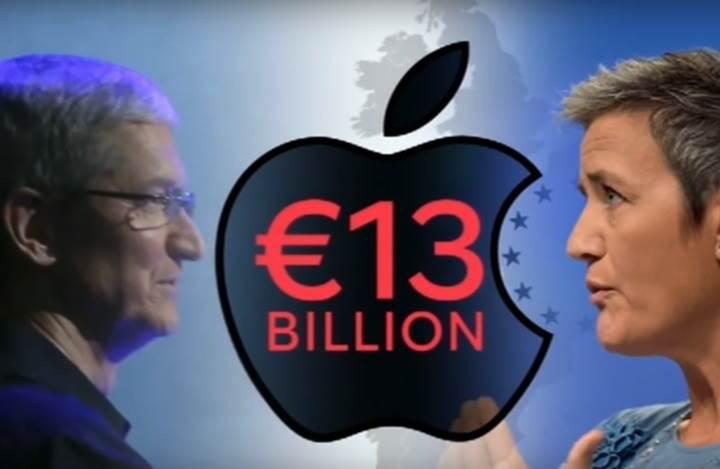 İrlanda Apple'dan 13 milyar euroluk vergi cezasını tahsil edecek
