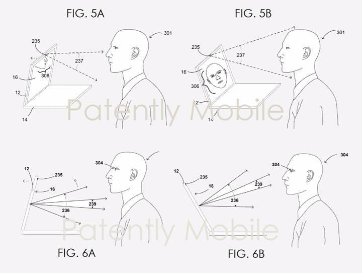 Yeni nesil Google dizüstü bilgisayarların kapakları yüzünüze göre kendisini ayarlayacak
