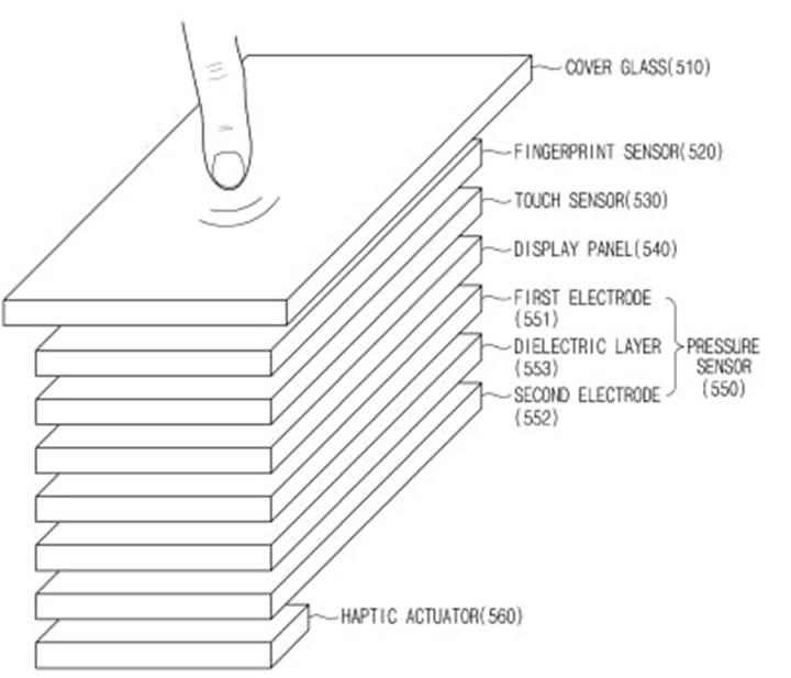Samsung'un ekrana gömülü parmak izi sensörü patenti onaylandı