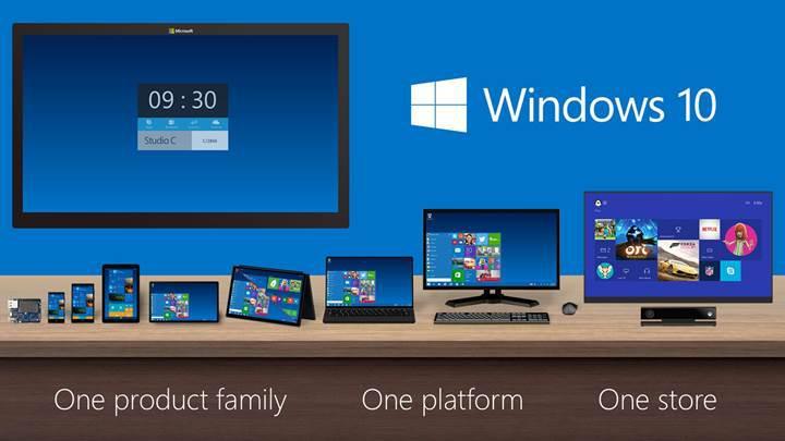 Windows 10 yüklü cihaz sayısı 600 milyonu geçti