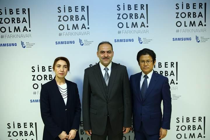 Samsung ve BTK siber zorbalığa karşı harekete geçti