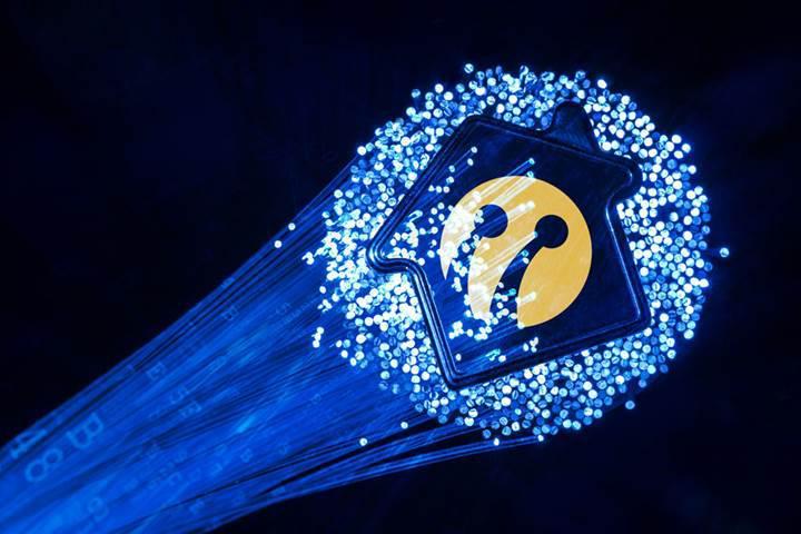 Turkcell 10 Gbps hızındaki fiberi evlere getiriyor