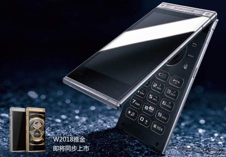 F/1.5 aralıklı kameraya sahip Samsung W2018 duyuruldu