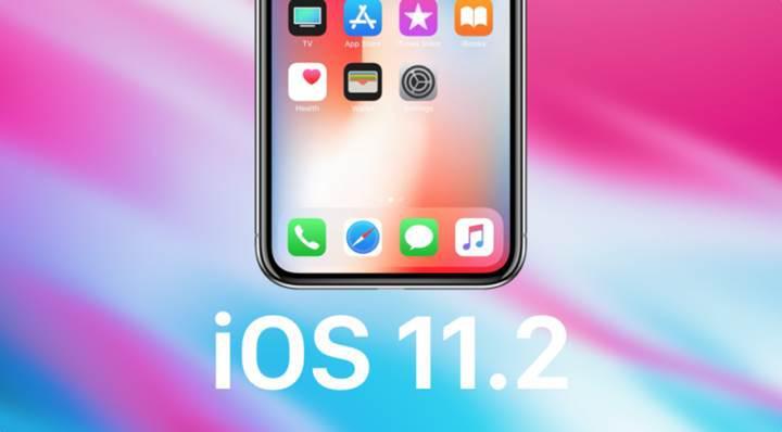 iOS 11.2 yayınlandı!