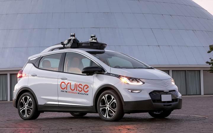 GM sürücüsüz araçları 2019'da şehirlerde çalıştırmayı planlıyor