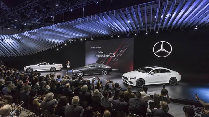Mercedes-Benz dört yeni modelin tanıtımını yaptı