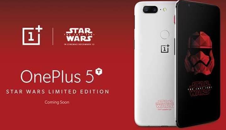 OnePlus 5T Star Wars Edition ile tanışın