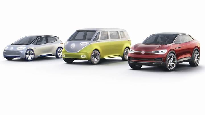 Volkswagen I.D modelinin üretimi için geri sayım başladı