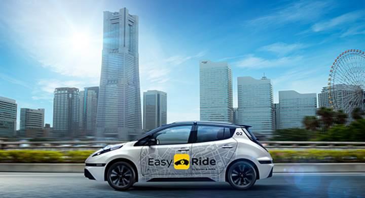Nissan gelecek yıl robo-taksi servisini test edecek