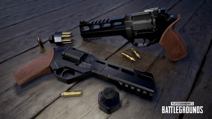 PUBG Çöl Haritası yeni bir silahla buluşuyor: R45 Revolver!