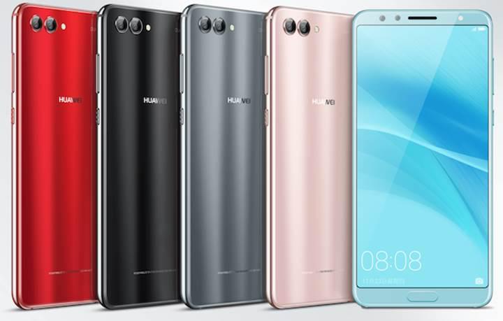 4 kameralı Huawei Nova 2S duyuruldu