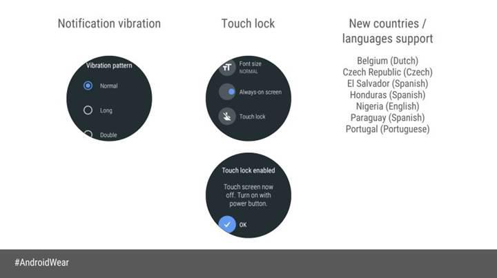 Android Wear saatler için Oreo güncelemesi başladı
