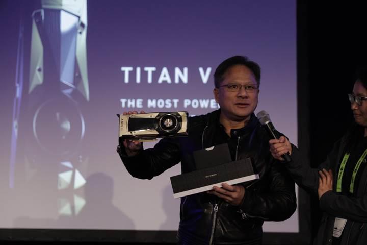 Nvidia Titan V: Yine dünyanın en güçlüsü