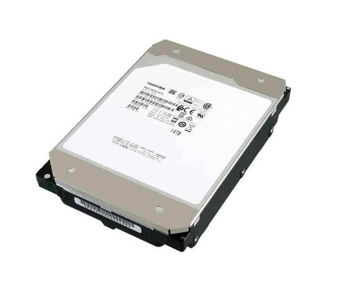 Toshiba sektörün ilk 14TB CMR HDD sürücüsünü geliştirdi