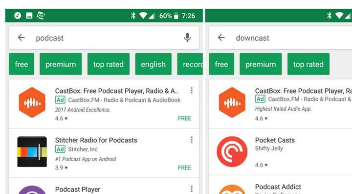 Google Play Store'da ücretli ve ücretsiz uygulamaları bulmak daha kolay olacak