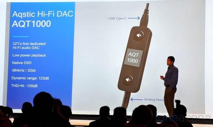 Qualcomm'dan USB Tip-C DAC adaptörü
