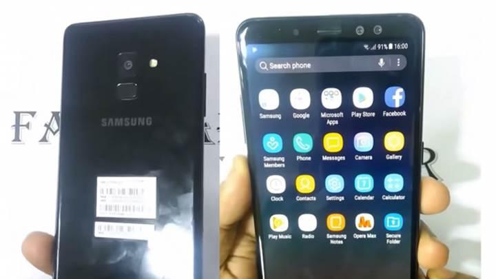 Samsung Galaxy A8+ (2018) her yönüyle sızdı
