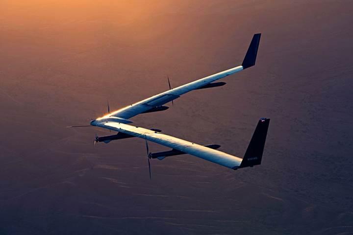 Facebook'un drone'u Aquila emekliye ayrılıyor