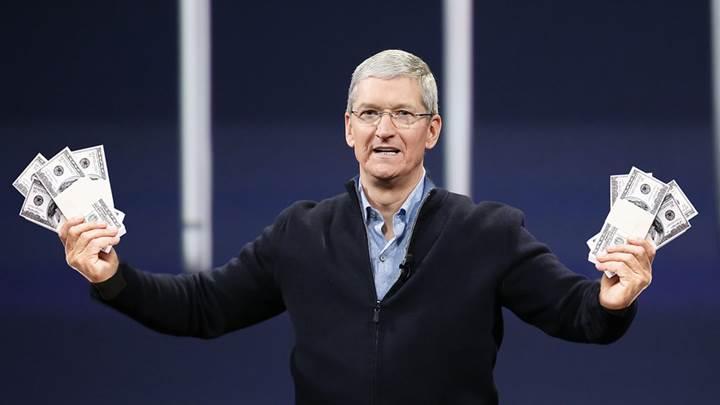 Apple para basıyor: Saniyede 1.444,76 dolar kazanç