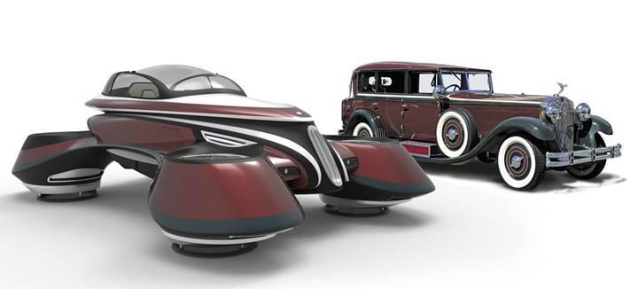 İtalyan tasarımcının geçmiş ile geleceği harmanladığı fütüristik tasarımları