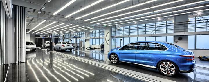 Mercedes-Benz'in yeni tasarım stüdyosu Fransa'da açılıyor