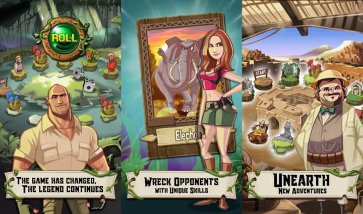 Filminden önce Jumanji: Vahşi Orman'ın mobil oyunu geldi